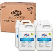 Clorox® Healthcare® Bleach Germicidal Cleaner, 1 Gallon Refill, 4 Bottles/Cs - 68978