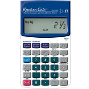 KitchenCalc - Hand-held Recipe Scaling Calculator with Digital Timer