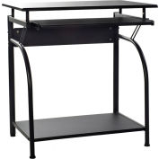 OneSpace 50-1001 Stanton Computer Desk with Pull-Out Keyboard Tray, Black
