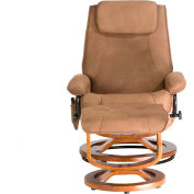 Comfort Products Relaxzen Deluxe Padded Microfiber Massage Recliner