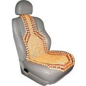 "Kool Kooshion Comfort Beads Wood Beaded Seat Cushion - 50.4"" x 15.4"""