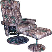 Comfort Products Relaxzen 8 Motor Massage Recliner with Heat Camo