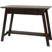 Comfort Products Coublo Collection Writing Style Desk, Mocha Brown