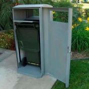 SECURR® CG Series 32 Gal. Poly Cart Garage - Black