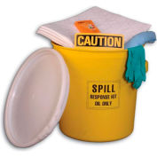 Chemtex SPK20-O 20 Spill Kit, Oil Only, 20-Gallon