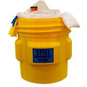 Chemtex SPK65-O Overpack Spill Kit, Oily Only, 65-Gallon