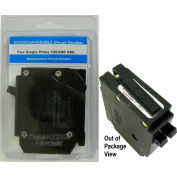 "Siemens® VPKICBQ1520 Interchangeable Twin 1"" Circuit Breaker Twin 1-Pole 15A/20A Clamshell PKG"