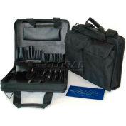 """CH Ellis Chicago Case Z120, Single Zipper Tool Bag, 13-1/2""""L x 10-1/2""""W x 4-1/4""""H, Black"""