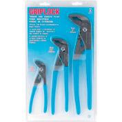 Channellock® Griplock® GLS-3 3 Piece Offset Tongue & Groove Plier Set