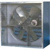 """Canarm HVA60CBS10500 60"""" Belt Drive Single Phase 5HP Wall Fan 5HP 47580 CFM"""