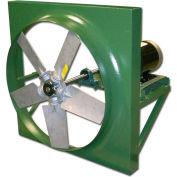 "Canarm HVAR36T30150 36"" Belt Drive Reversible Three Phase 1.5HP Wall Fan 1-1/2HP 16300 CFM"