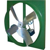 """Canarm XBL30T10033 30"""" Belt Drive Single Phase Wall Fan  1/3HP 7730 CFM"""
