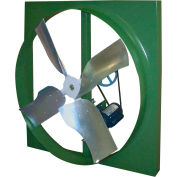 """Canarm XBL30T30033M 30"""" Belt Drive Three Phase Wall Fan  1/3HP 7730 CFM"""