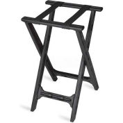Tray Stand, folding, Black Straps, Black Plastic Frame, (4 Per Case)