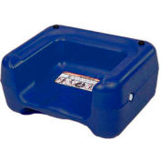 Koala Kare® Booster Seat, Dual Heights, Extra Wide Base, Blue, 1-Pack