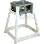 CSL KidSitter™ High Chair, Beige Frame/Dark Gray Seat