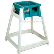 CSL KidSitter™ High Chair, Beige Frame/Green Seat
