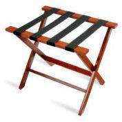Flat Top American Hardwood Luggage Rack, Cherry Mahogany, 1 Pack