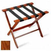Flat Top American Hardwood Luggage Rack, Dark Oak,1 Pack