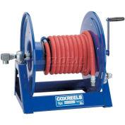 """Competitor Hand Crank Hose Reel: 3/4"""" I.D., 50' Hose Capacity, Less Hose, 3000 PSI"""