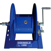 Coxreels 1125PCL-8-C HD Motorized Power Cord Reel: 250'/12 Ga. & 200'/10 Ga, 30 Amps w/ Hand Crank