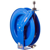 Coxreels EZ-PC24-0016-A Safety Series Spring Rewind Power Cord Reel: Single Recept 100' Cord 16 AWG