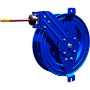 """Side Mount Reel w/ Guide Arm, EZ-Coil Safety System Equipped, 1/4""""X50' 5000PSI"""