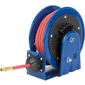 """Light Weight, Compact Efficient Heavy Duty Reel For Air/Water: 15' Cap., 1/4"""" I.D., Less Hose"""