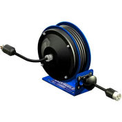 Coxreels PC10-3012-A Compact Efficient Heavy Duty Power Cord Reel w A Single Industrial recept 12 Ga