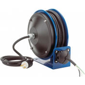 Coxreels PC10-3016-X Compact Efficient Heavy Duty Power Cord Reel w/ No Accessory, 16 Ga.