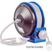 Coxreels PC10L-3012 Compact Efficient Heavy Duty Power Cord Reel, 12 Ga.