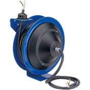 Coxreels PC13-5012-X Power Cord Spring Rewind Reel, Less Accessory, 50' Cord, 12/3