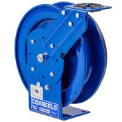 Coxreels PC19L-7512 Power Cord Spring Rewind Reel: 12 AWG, 75' Less Cord & Accessory