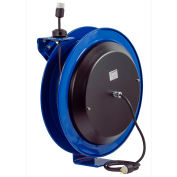 Coxreels PC24-0016-A Power Cord Spring Rewind Reel: Single Industrial Receptacle, 100' Cord, 16 AWG