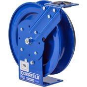 Coxreels PC24L-0016 Power Cord Spring Rewind Reel: 16 AWG, 100' Less Cord & Accessory