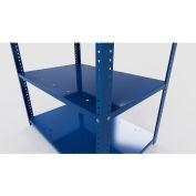 "Stackbin Corrugate Rack Shelf 36""W x 36""D, 18 Gauage, 100 Lb. Shelf Capacity - Black"
