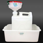 """ECO Funnel® EF-30020C-SYS 8"""" ECO Funnel System, 20L Carboy & Secondary Container, Red Lid"""