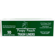 Poopy Pouch 13 Gallon Trash Liners, 50 Bags/Box