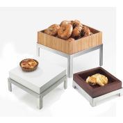 """Cal-Mil 1477-10-60 Tray for Square Change-Up Riser 10""""W x 10""""D x 2-5/8""""H Bamboo"""