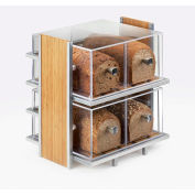 "Cal-Mil 1480 2 Drawer Bread Box 12""W x 12""D x 6""H"
