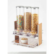 "Cal-Mil 1499 Eco Modern Cereal Dispenser 18-1/4""W x 13-1/4""D x 24-1/2""H"