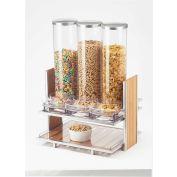 "Cal-Mil 1499 Eco Modern Cereal Dispenser 18-1/4""W x 13-1/4""D x 24-1/2""H"