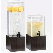 "Cal-Mil 1527-3-96 Midnight Acrylic Beverage Dispenser 3 Gallon 8-1/8""W x 9-3/4""D x 25-3/4""H"