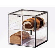 "Cal-Mil 1720-4 Iron Bread Case 13""W x 12-1/2""D x 13""H"