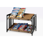 """Cal-Mil 1722 Mission 2 Tier Stand 23""""W x 13""""D x 15""""H"""