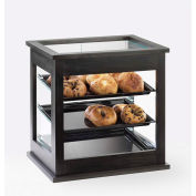 "Cal-Mil 284-96 Midnight Bakery Display Case with Black Trays 21""W x 16-1/4""D x 22-1/2""H"