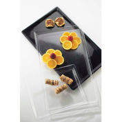 """Cal-Mil 325-12-12 Black Tray for One by One 2 Tiered Stand 12""""W x 20""""D - Pkg Qty 4"""