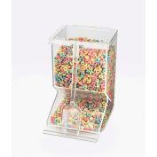 "Cal-Mil 656 Stackable Bulk Cereal Dispenser 10""W x 8""D x 14""H"