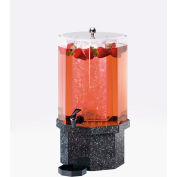 "Cal-Mil 972-2-17 Classic Beverage Dispenser 2 Gallon 10""W x 10""D x 20""H Charcoal Granite"