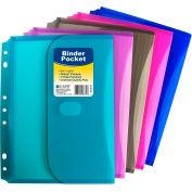 C-Line Products Mini Size Binder Pocket, Side Loading - Pkg Qty 18